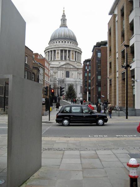 St. Pauls's from Queen Victoria Street