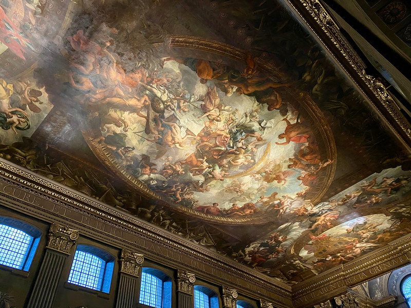 12The Ceiling of the Painted Hall