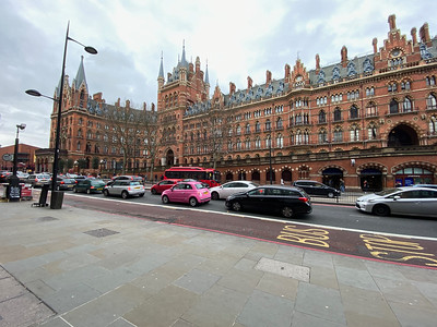 St Pancras Station and Hotel--left half