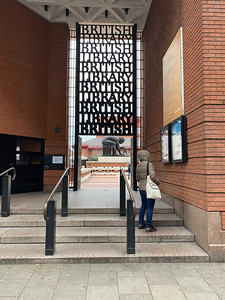 British Library Entrance