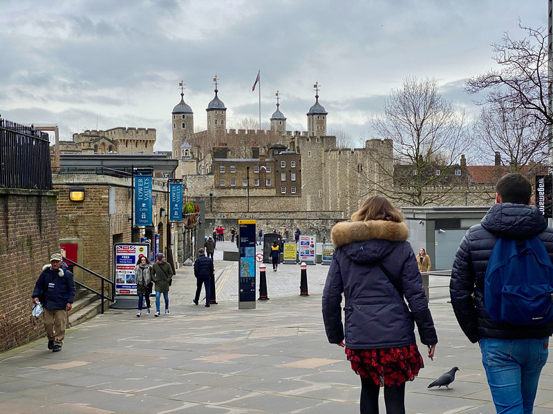 Another angle on the Tower of London