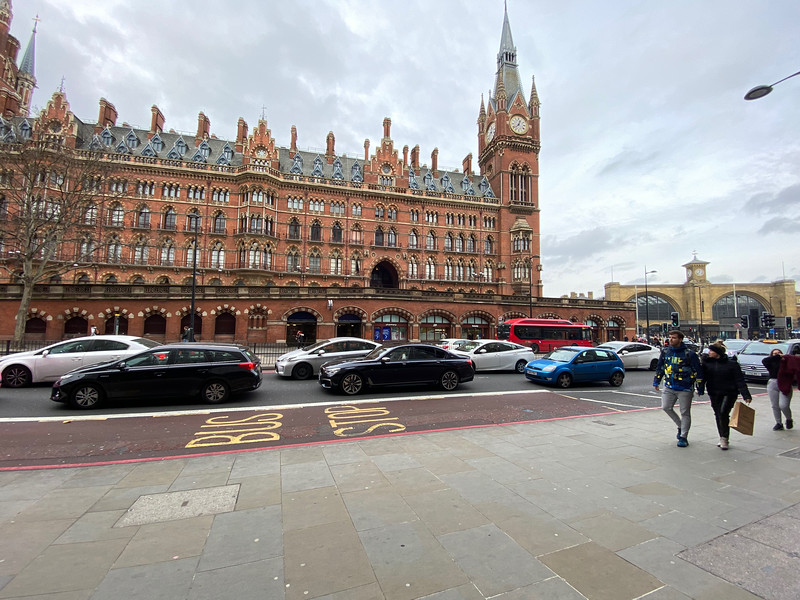 St Pancras and Kings Cross