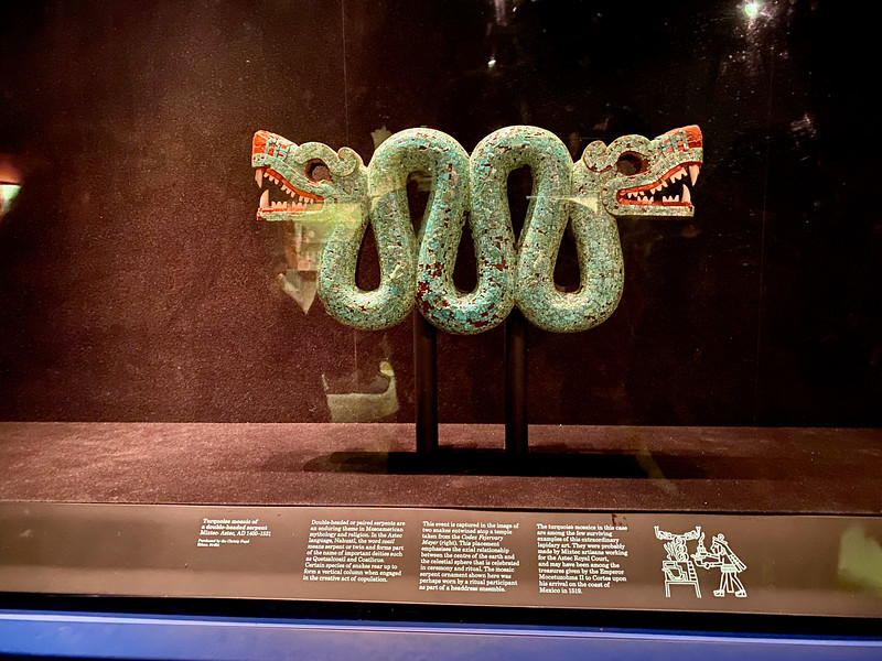 Aztec Mosaic in the British Museum
