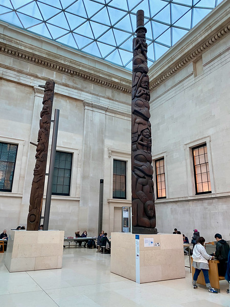 Totems in the British Museum