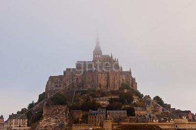 Mont Saint-Mochel in the fog