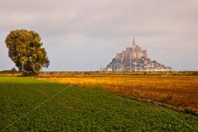 St Michel across the field