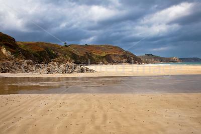 Bonaparte Beach at Plouha, Brittany