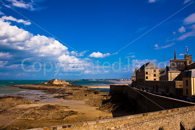 Saint Malo and the fortress