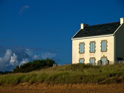 House at Kerou beach, Le Pouldu