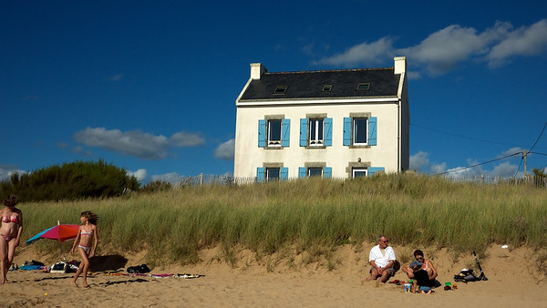 Beach at Kerou, Le Pouldu, Brittany