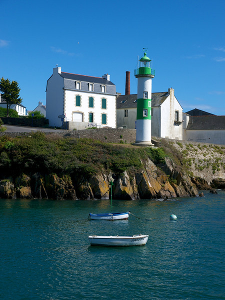 One of the lighthouses at Doëlan