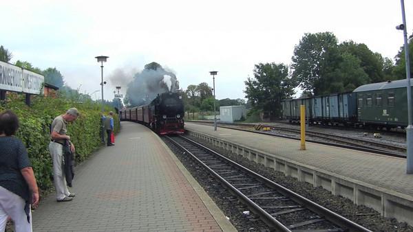 Brocken Steam Train