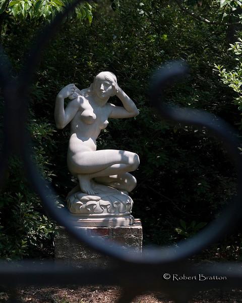 Lady through the Gate