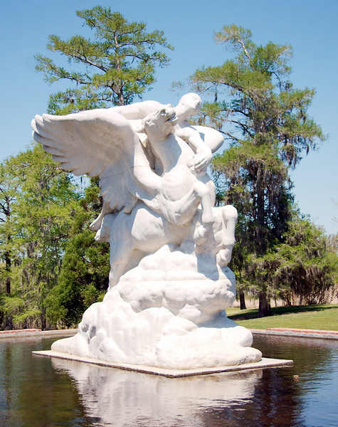 Pegasus, the winged stallion
