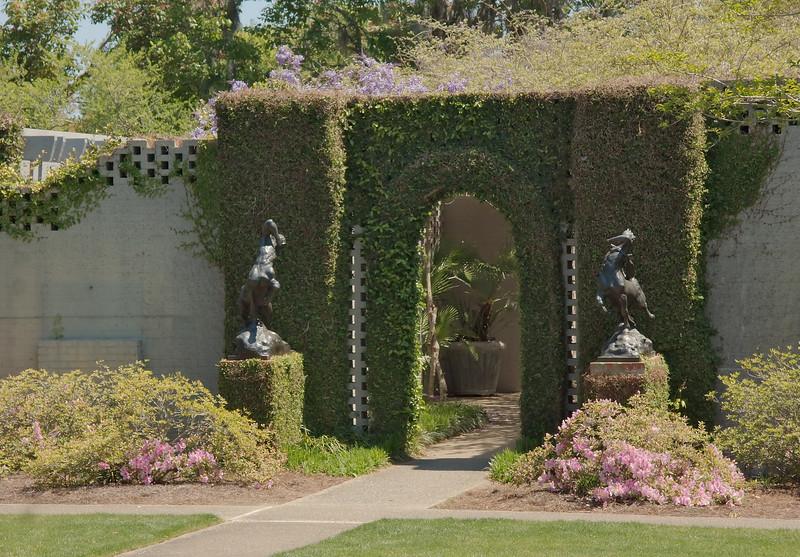Entrance to Sculpture Court