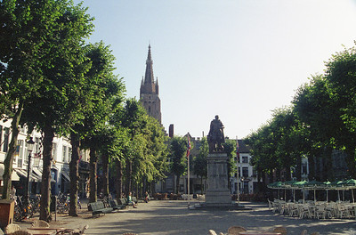 Bruges, Belgium in August 1992