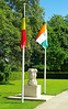 An oddity near the Menin Gate. A memorial to the Indian troops who fought far away from home in the Flanders trenches.