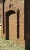 Nice brickwork, but how do you get through the doorway?