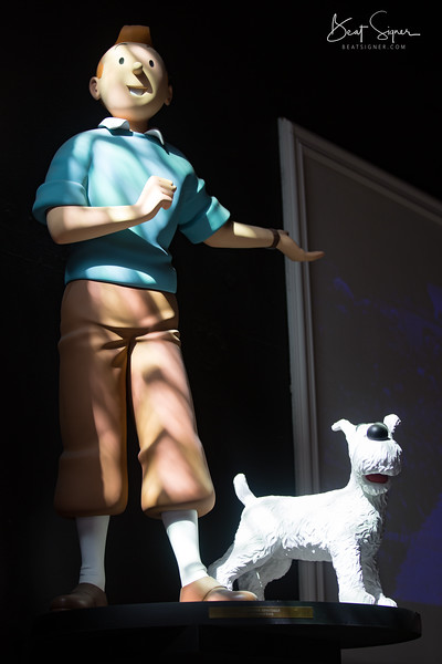 Tintin in Bruges