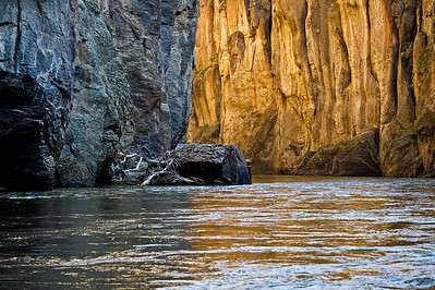 Canyon light, Bruneau River Canyon, Idaho