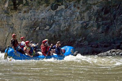 Paddle boat, Bruneau River, Idaho