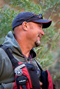 Steve Lentz. Lead guide, expert boatsman, and wannabe Sheriff on the Bruneau River, Idaho Far and Away Adventures