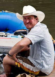 Patrick, river guide on the Bruneau River, Idaho Far and Away Adventures
