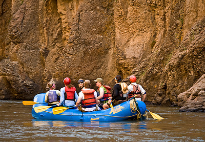 Paddle boat. Bruneau River Canyon, Idaho Far and Away Adventures