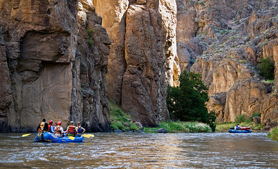 Rafting the Bruneau River, Idaho