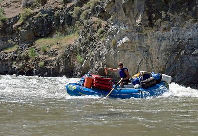 Blake, River Guide, Far and Away Adventures Bruneau River, Idaho