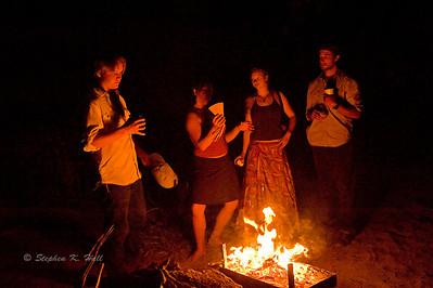 Campfire camaraderie Bruneau River, Idaho Far and Away Adventures