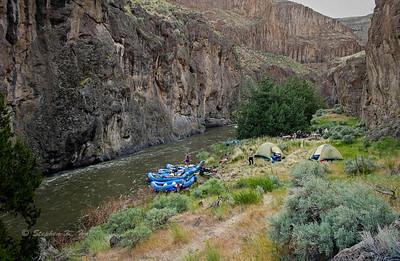 Encampment, Bruneau River, Idaho Far and Away Adventures
