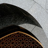 Arch detail, Hassanal Bolkiah Mosque, Bandar Seri Begawan, Brunei.
