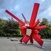 Sculpture under the Atomium