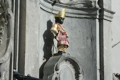 Brussels-Mannaken Pis Statue