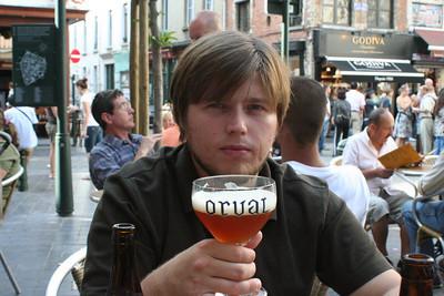 Brussels Pub 1st Beer