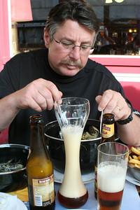 Dinner in Brussels - Moulles Frites