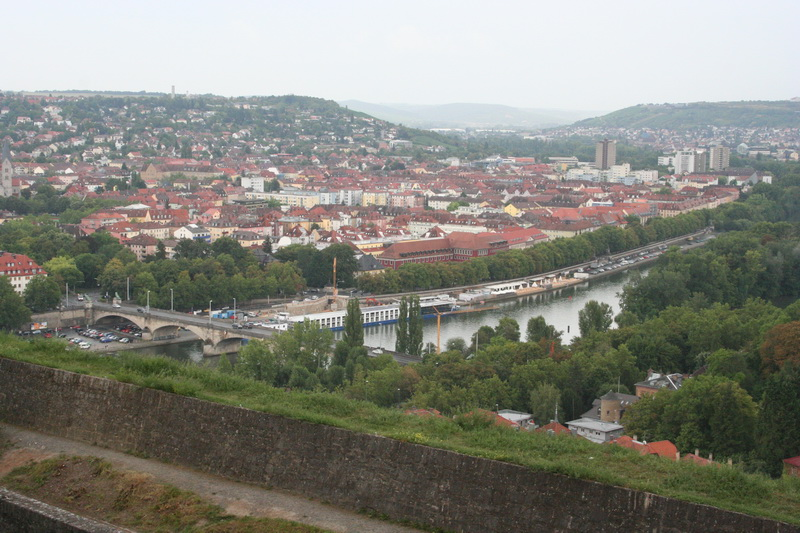 Wurzburg,Germany - from Fortress Marienburg