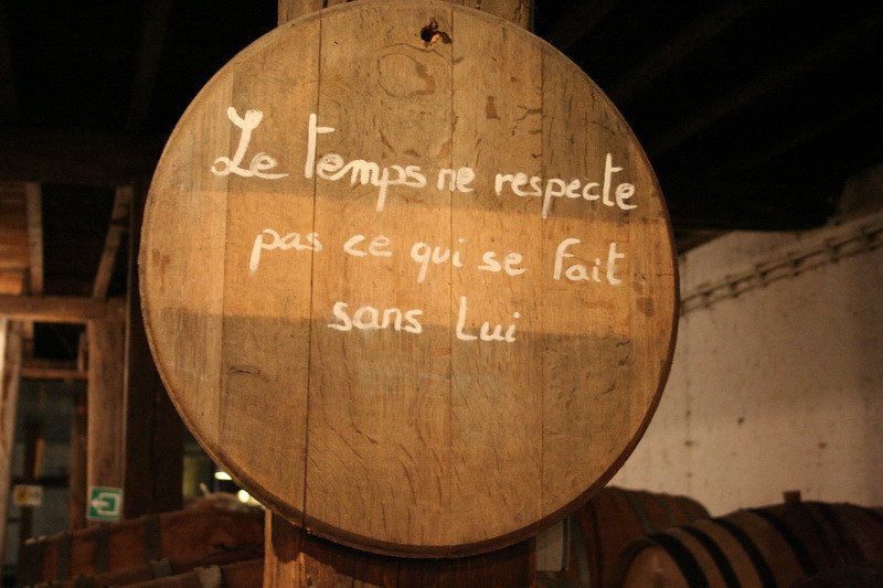 "Brussels - Cantillon Brewery - ""Time does not respect what is done without him."""