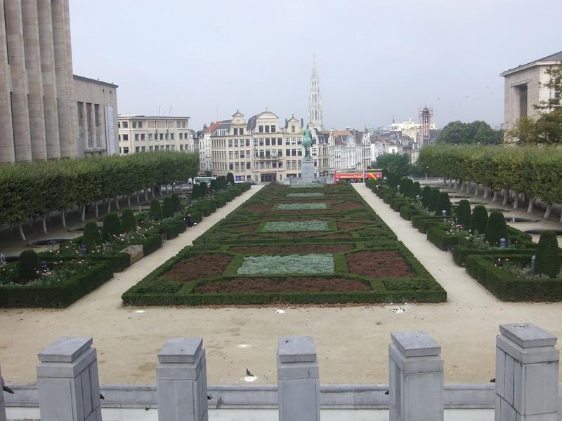 Art Gallery Gardens,  Brussels