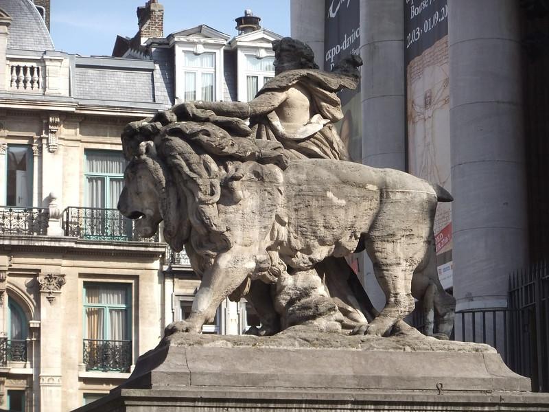 Place de la Bourse, Brussels