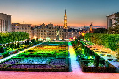 Jardin du Mont Des Arts