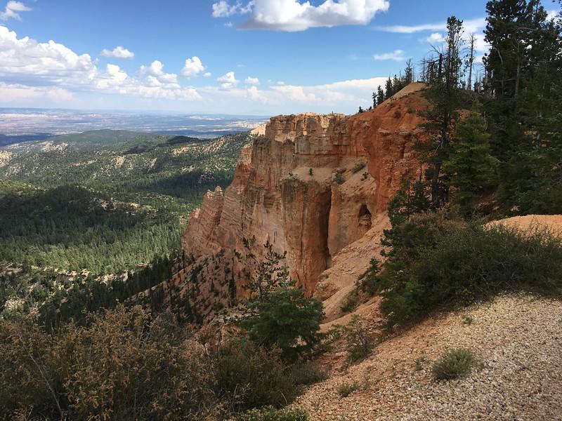 sheer cliffs and wide vistas