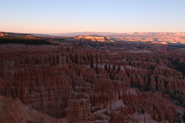 Sunset at Bryce Canyon National Park, UT