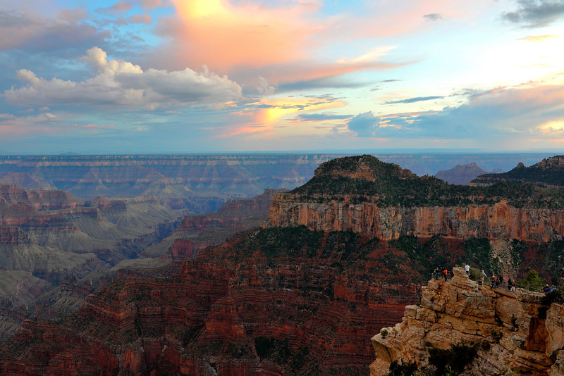 Sunset at the North Rim - Grand Canyon NP