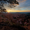Sunrise at Bryce NP
