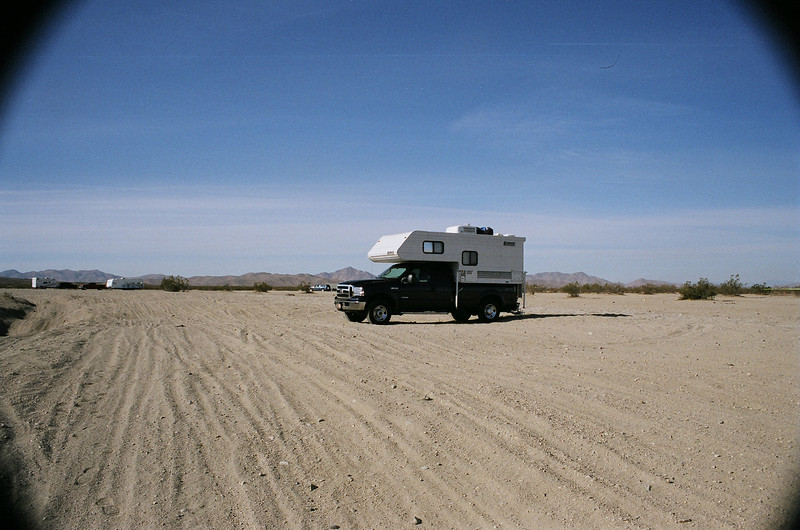I had only planned on driving to Stoddard OVH area near Barstow, CA. and spent a quiet night there.