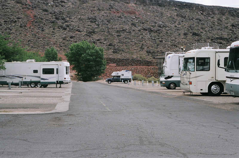 Large and small RV's welcomed here.