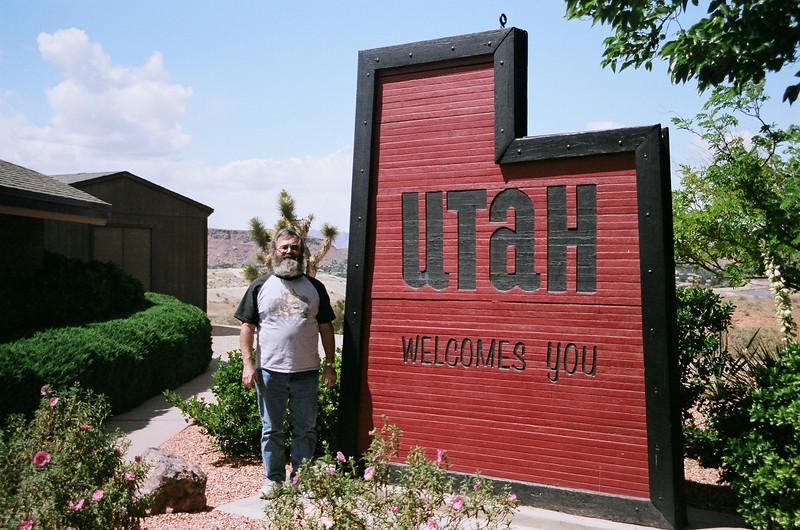 At Utah visitor center.
