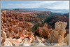 The hoodoos and other formations of Bryce National Park in Utah